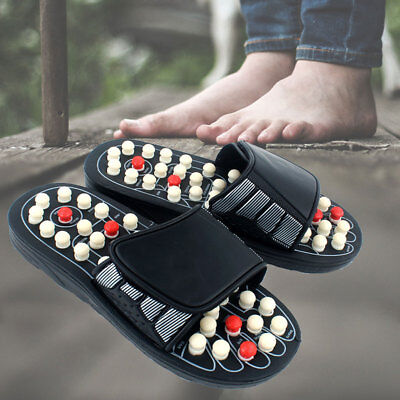 Massage Slippers Sandal Feet Acupressure Acupuncture Reflexology Therapy Medical