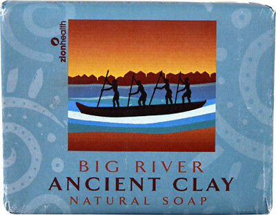 Ancient Clay Soap, Zion Health, 10.5 oz Big River