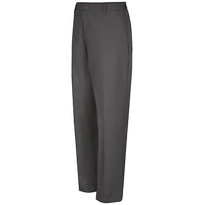 Red Kap Men's Elastic Waist Work Pants, Charcoal