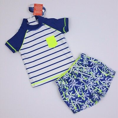 Baby Boys NEXT UV Tropical Sun Suit Swimming Suit 3-6 Mths BNWT Combine Postage