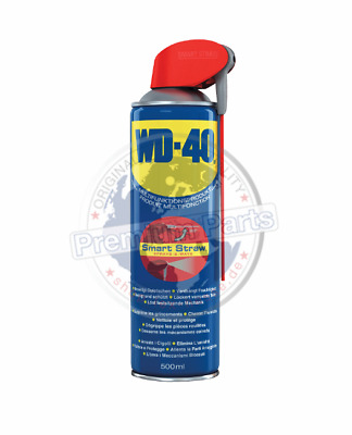 WD-40 Multifunktionsprodukt Smart-Straw WD40 Vielzweckspray Universalspray 500ml