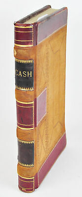 Yellow Aster Mine Cash on Hand Book Mining Company Expense Record Antique 1900
