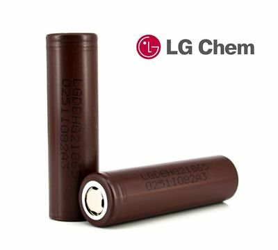 2X 100% Authentic LG HG2 18650 3000mAh  Rechargeable  Battery for Vape Mod