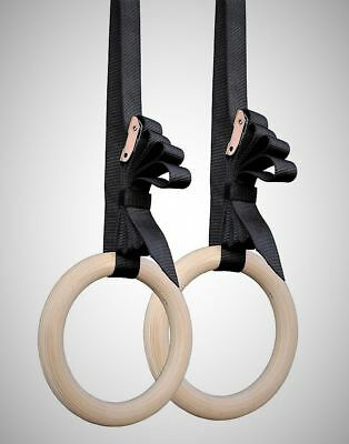 Freedomstrength® Wooden Crossfit Gymnastic Rings