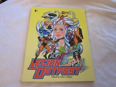 Best of Legion Outpost softcover collection- Legion of Superheroes classic!!