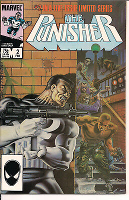 The Punisher #2 VF- Marvel Comics 1986 Limited Series