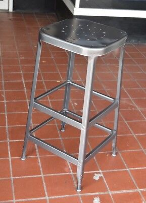 """Industrial Lyon Factory Machinist Stool 30"""""""