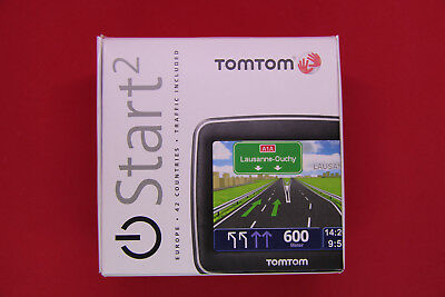 TomTom Start² CE Traffic Navigationssystem 42 Länder Europa