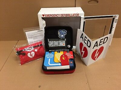 Philips Heartstart AED Bundle Business Value Package **FREE SHIPPING**
