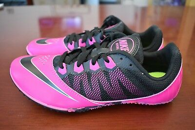 info for 7604a 9fe72 Nike Zoom Rival S Running Track Field Spikes 615998-600 Size 7.5