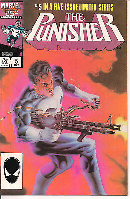 The Punisher #5 FINE+ Marvel Comics 1986 Limited Series