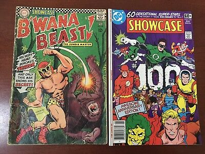 Showcase 66 First Appearance B'wana Beast And 100 Anniversary Issue With 60 Hero