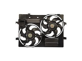 Dual Fan Assembly Without Controller 620-927 Fits Jaguar  X-Type 2007-