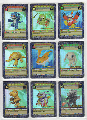 Digimon Digi-Battle Card Game Booster Series 3 Holos Near Complete Set NM+