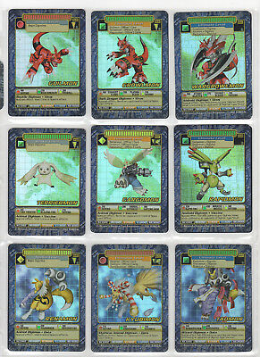 Digimon Digi-Battle Card Game Booster Series 4 Holos 27/42 Near Complete Set NM+