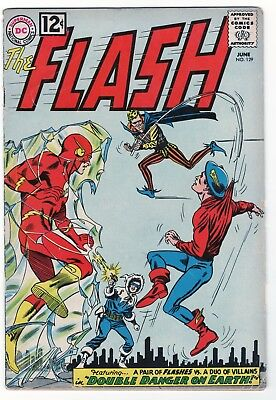 The Flash #129 (1962) 2nd Golden Age Flash! First appearances of JSA! VG/FN