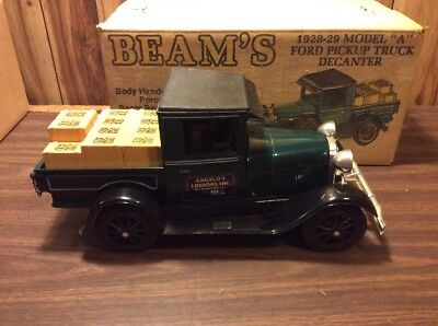 Jim Beam Ford Pickup Truck Model A Green Collectible Must Ship Empty