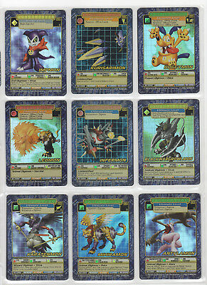 Digimon Digi-Battle Card Game Booster Series 5 Holos 39/44 Near Complete Set NM+