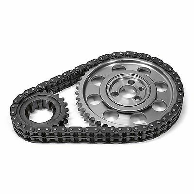 Scorpion Small Block Chevy Double Roller Timing Chain Set SBC 327,350,383,400