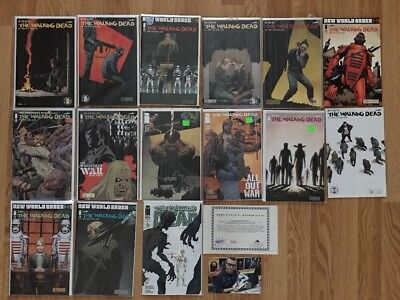 The Walking Dead Mixed Comic Book Lot