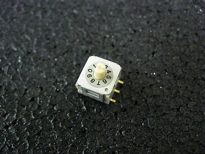 SMT DIP Rotary Switches Lot of 95 ND3KR10 JAPAN