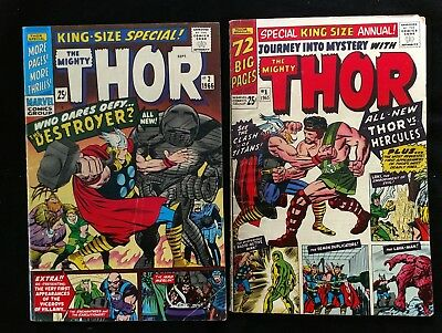 Marvel Comics Lot of 2 Thor King Size Special #1 & #2