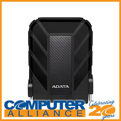 "1TB Adata 2.5"" HD710BK Durable Waterproof Shock Resistant USB3.0 Portable HDD"