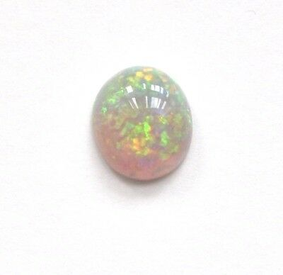 Black Crystal Opal 1.15Ct Natural Solid Loose Stone Lightning Ridge Cabochon