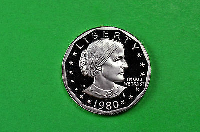 1980-S GEM Proof (Susan B Anthony) Deep Cameo US One Dollar Coin