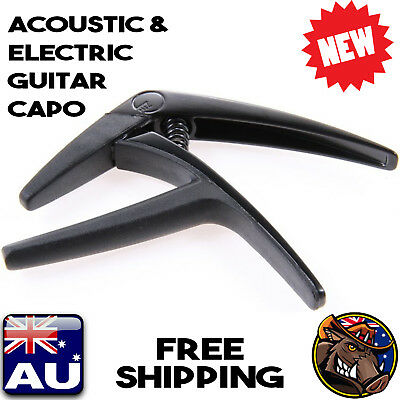 NEW!! G7th NASHVILLE CAPO FOR ACOUSTIC & ELECTRIC GUITAR - BLACK