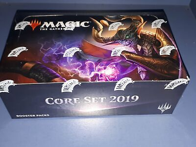 New Wizards of the Coast Sealed Magic Booster box of Core 19