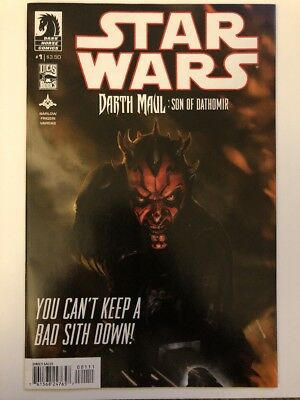 Star Wars: Darth Maul: Son of Dathomir #1 Of 4 2014 Dark Horse Comics 1a Solo