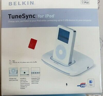 Belkin TuneSync  5 Port USB 1.1/2.0 Hub & iPod Dock Charger
