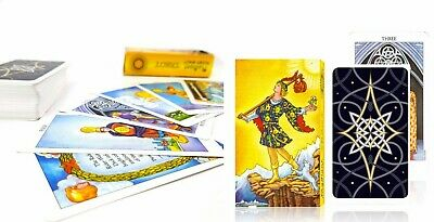Full English version radiant tarot deck cards high quality board game deviation