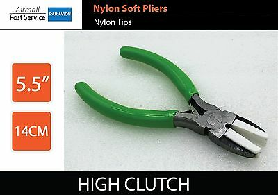 Craft Jewelry Nylon Soft Rubber Plastic Jaw Pliers Clamps Vice tool Bead wire