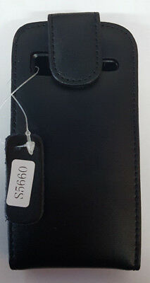 Samsung Galaxy Gio S5660 Black Flip Down Case