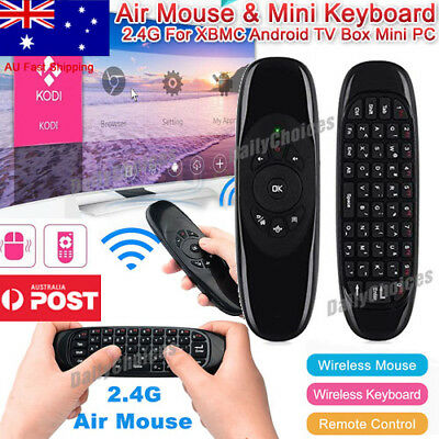2.4G Wireless Remote Control Air Mouse Keyboard For Android TV Box Kodi Mini PC