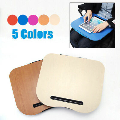 Cushion Laptop Tray Lap Desk Cushioned Portable Computer Reading Writing Table
