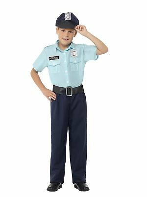 Police Officer Costume for Children Boys Book Week Fancy Dress Outfit