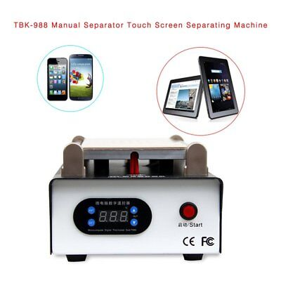 TBK-988 Manual Separator Touch Screen Separating Machine Phones Repair T TD