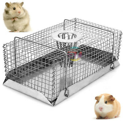 Multi Self Catch Live Mouse Mice Trap Galvanised Mesh Wire Humane Indoor Outdoor