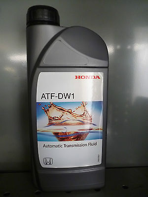 Genuine Honda ATF-DW1 Automatic Gearbox Oil 1 litre bottle