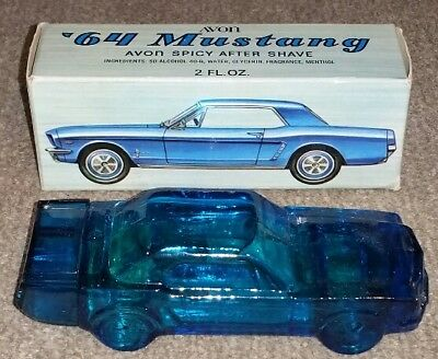 AVON '64 MUSTANG Spicy After Shave 2FL OZ FULL BOTTLE NEW