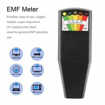 Hot Electromagnetic Radiation Detector LCD General EMF Meter Dosimeter Tes TD
