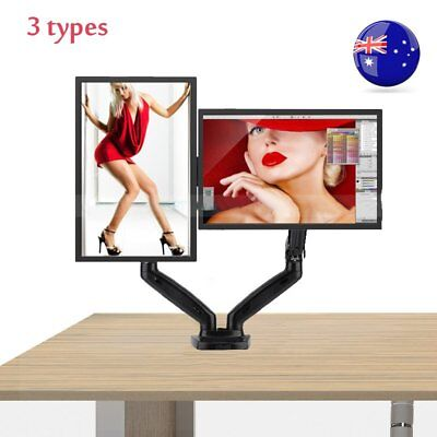 3 Types HD LED Desk Mount Bracket Monitor Stand Display Screen TV Holder AUS F5