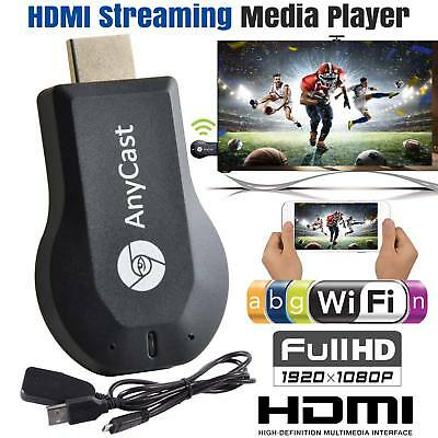 2018 WiFi 1080P HD HDMI TV Stick AnyCast DLNA Wireless Chromecast Airplay Dongle