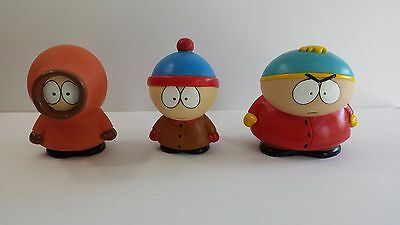 South Park 1998 Comedy Central Figures Hard Plastic Approx. 5.5 inches tall