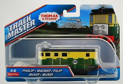 THOMAS AND FRIENDS Philip Fbk42 Die Cast Trackmaster New Motorized Engine  Train