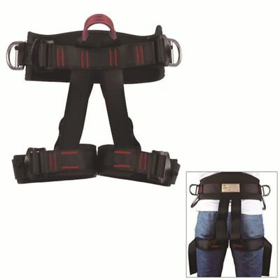 Pro Tree Rescue Rock Climbing Sitting Bust Belt Safety Seat Rappelling Harness