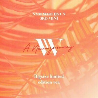 NAM WOO HYUN [A NEW JOURNEY] 3rd Mini Album NORMAL CD+Foto Buch+2p Karte SEALED